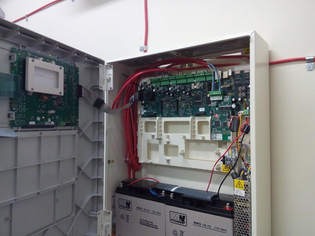 Uruchomienie systemu sygnalizacji pożaru, konserwacja aritech, system x2